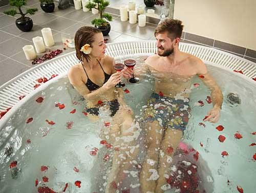 Romance in Bath Tub