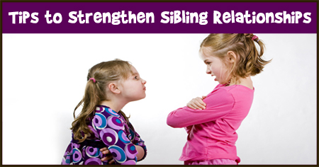 Strengthen Sibling Relationships