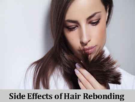 Side Effects of Hair Rebonding